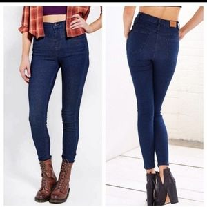 Urban Outfitters BDG High Rise Seam Skinny Jean Si